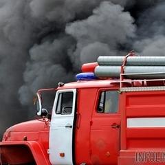 У центрі Києва горіла лікарня: пацієнтів евакуювали