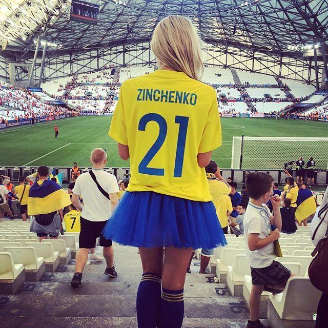 Українка стала зіркою Євро-2016 (фото)