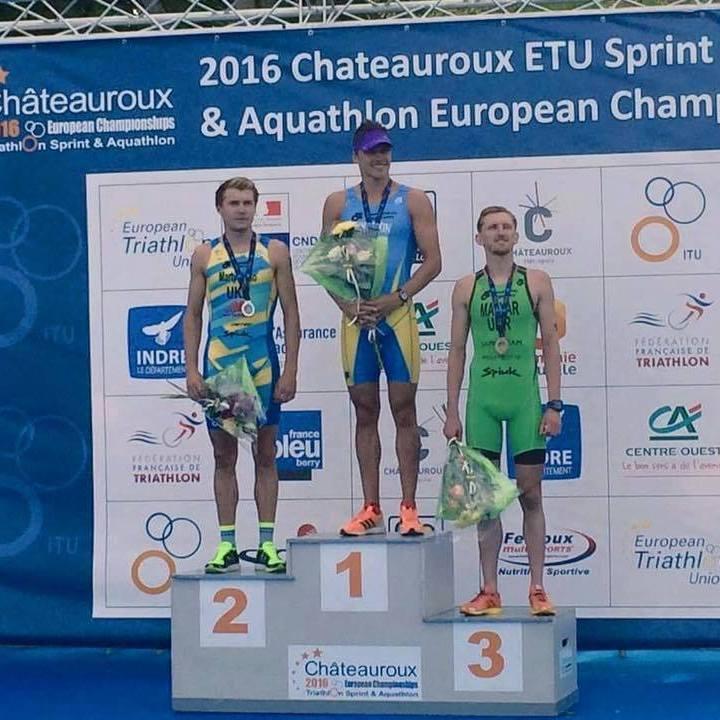 Українці стали кращими на чемпіонаті Європи з акватлону