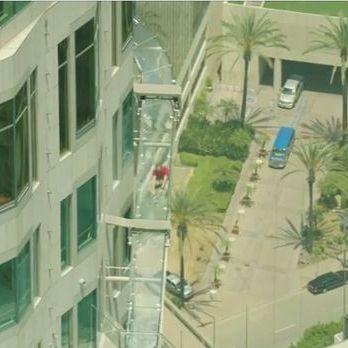 Екстремальна гірка на висоті 300 метрів з'явилася у Лос-Анжелесі