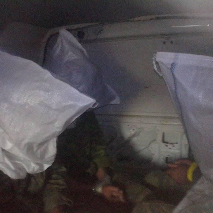У мережі з'явилося фото захоплених в полон під Широкиним бойовиків (ФОТО)