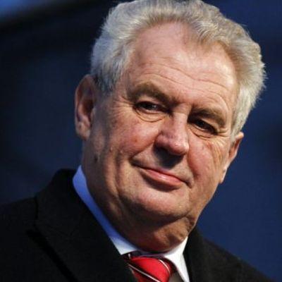 Президент Мілош Земан підтримав референдум про вихід Чехії з ЄС