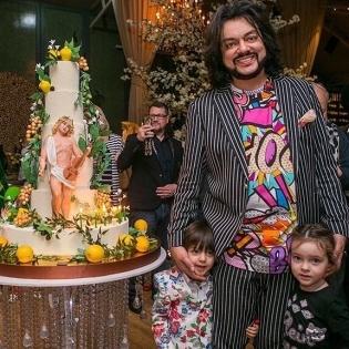 """Кіркоров влаштував для сина день народження в стилі фільму """"Аватар"""