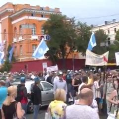 У Києві проходить Всеукраїнський марш протесту проти підвищення комунальних тарифів
