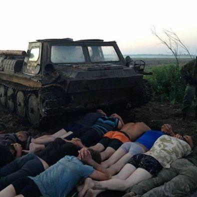 Аваков повідомив, що бурштинщики збили безпілотники і мали броньовик (фото)