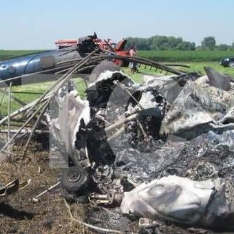 Стали відомі подробиці падіння вертольота Мі-2 на Сумщині