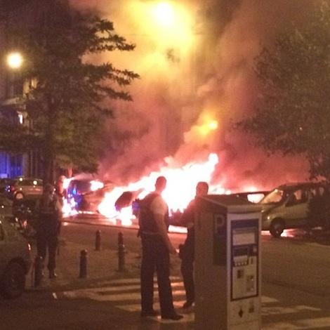 У Брюсселі неподалік від будівлі Європарламенту пролунали вибухи (відео)