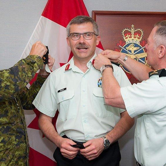 Українець очолив армію Канади
