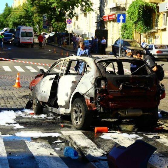 Свідок повідомив, що Павло Шеремет був живий після вибуху
