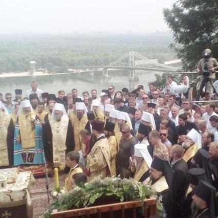Лідери «Опоблоку» відвідали Володимирську гірку