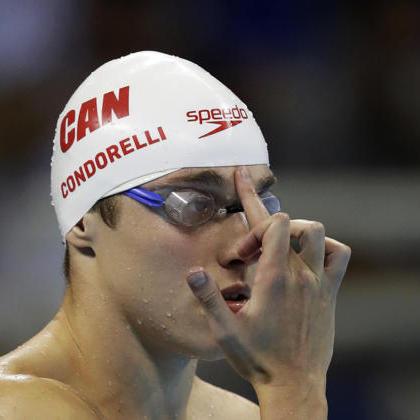 Канадський плавець показує батькові середній палець перед кожним запливом