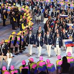В Олімпійському селищі в Ріо зірвали російські прапори