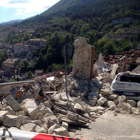 Число жертв землетрусу в Італії зросло до 247 осіб