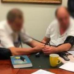 Т.В.О. ректора НАУ, спійманий на хабарі, запевняє, що не з'явився на судове засідання через поганий стан здоров'я (відео)
