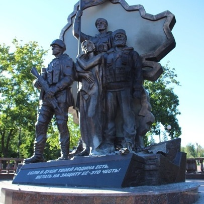 У Луганську підірвали пам'ятник загиблим ополченцям