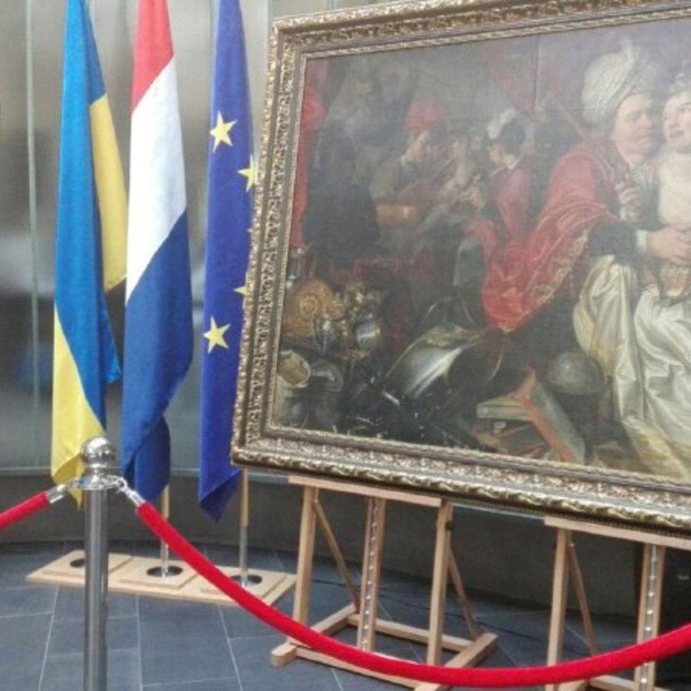 Україна передала Нідерландам 5 картин із викраденої колекції