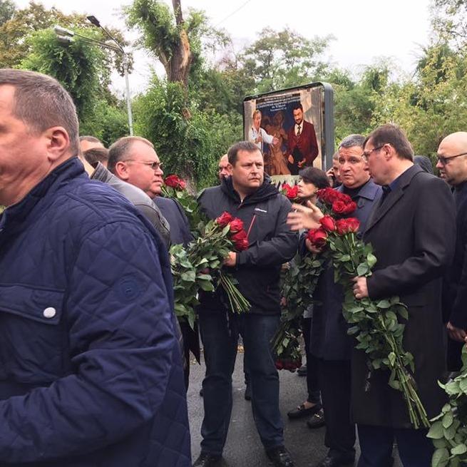 У Дніпрі попрощалися з убитими поліцейськими