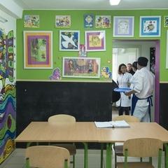 У Києві волонтерка розмалювала їдальню для малозабезпечених, пенсіонерів і безхатченків (фото)
