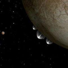 Із супутника Юпітера у відкритий космос б'ють струмені води (відео)