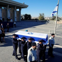 В Єрусалимі прощаються з екс-президентом Ізраїлю, на церемонії присутній Петро Порошенко