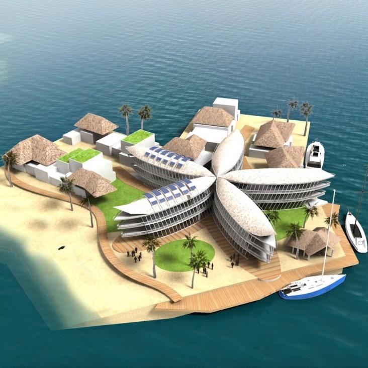 У Полінезії побудують плавуче місто (фото)