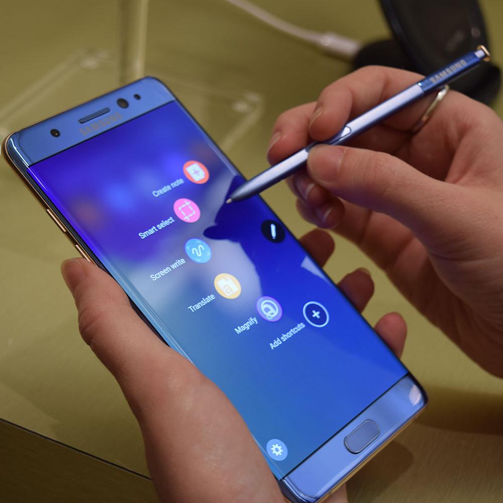 Samsung припиняє продаж Galaxy Note 7