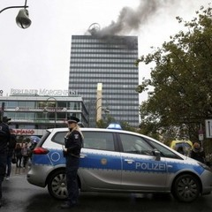 Символ західного Берліну охопило полум'я (фото)