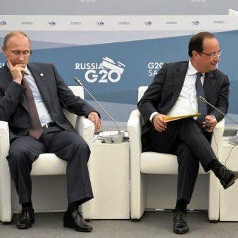 Олланд відмінив зустріч із Путіном, щоб принизити його за Алеппо