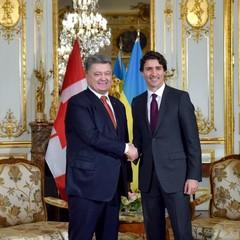 Порошенко і Трюдо домовилися про співпрацю в галузі безпеки