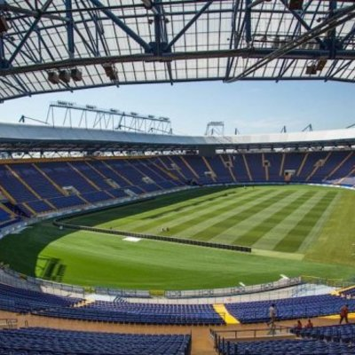 Футбольне протистояння між збірними України та Сербії