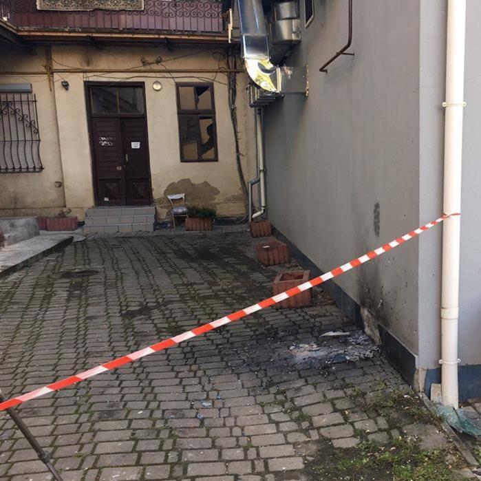 В Івано-Франківську біля офісу ОБСЄ вибухнула граната