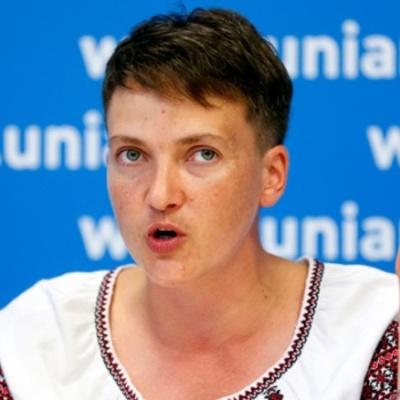 Савченко готова поїхати відпочити в Росію