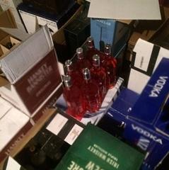 В Одесі вилучили фальсифікованого елітного алкоголю на 1 млн грн
