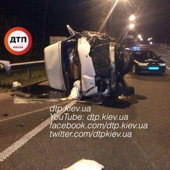 Страшна ДТП під Києвом: троє загиблих