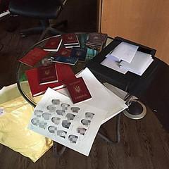 Підпільну друкарню з виготовлення фальшивих документів закрили у Київській області