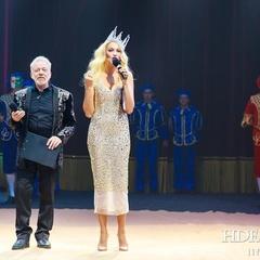Оля Полякова почала працювати в цирку