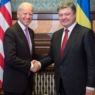 Про що говорив Порошенко з віце-президентом США