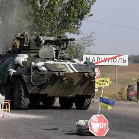 Проросійські бойовики намагаються відбити прямий шлях до Маріуполя (відео)