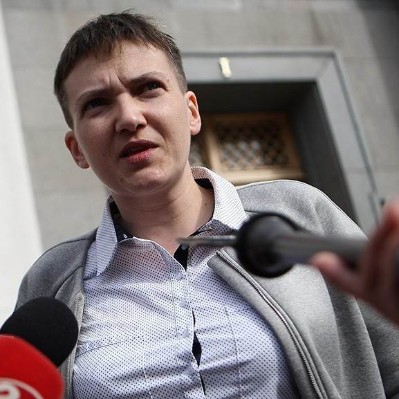 Українець запропонував позбавити Савченко депутатського мандата