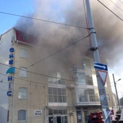 В Одесі відбулося загоряння в бізнес-центрі