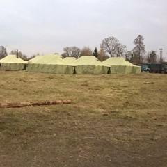 На Сумщині бійців АТО поселили у наметах