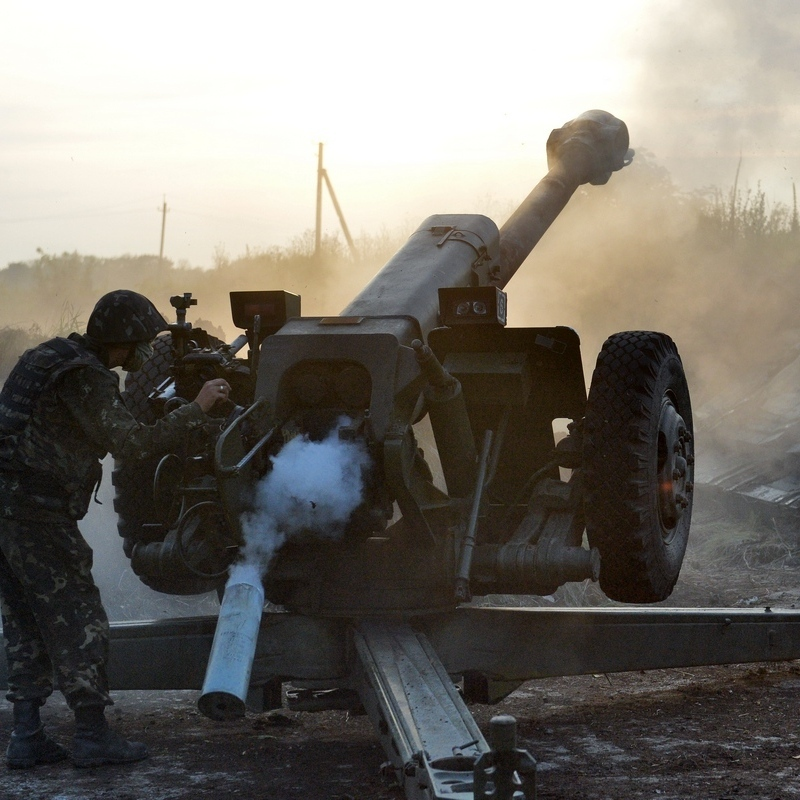 На Донбасі різко збільшилась кількість обстрілів