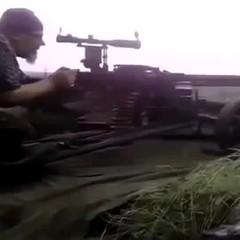 Снайпер ЗСУ знищує бойовиків великим калібром (ВІДЕО)