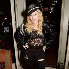 58-річна Мадонна вийшла в світ у прозорому вбранні