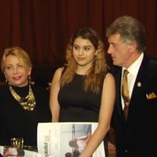 Віктор Ющенко вийшов у світ з молодшою дочкою