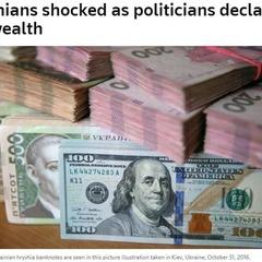 Українці шоковані оголошеними багатствами політиків
