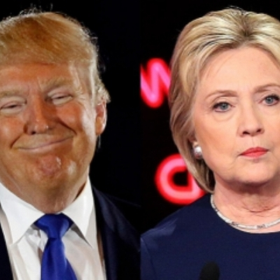 Трамп випередив Клінтон за популярністю