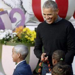 Барак Обама продемонстрував зомбі-танець на святкуванні Хелловіну (відео)