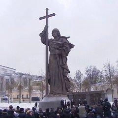 У Москві відкрили пам'ятник київському князю Володимиру (фото)