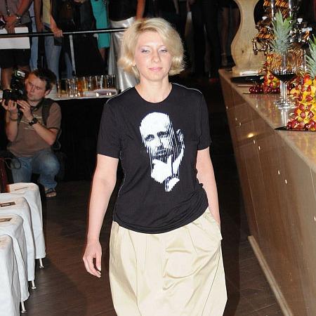 Дружина Олександра Турчинова мріє взяти участь у шоу «Льодовиковий період»
